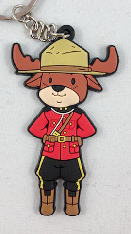 Official Moose Mounties Keychain