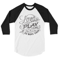 Mission 3/4 Sleeve Raglan Shirt