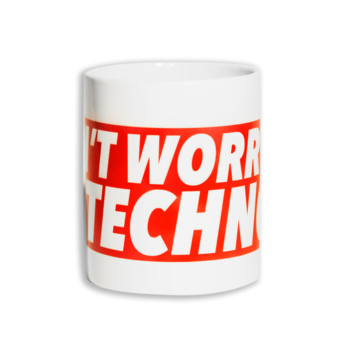 Don't Worry, Be Techno - Tazza Promo - Tazza by Fol The Brand