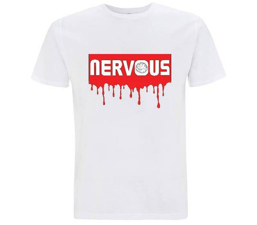 Nervous rosso - T-shirt Uomo - T-Shirt by Fol The Brand
