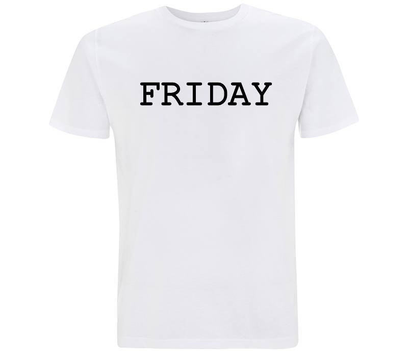 Friday - T-shirt Uomo - T-Shirt by Fol The Brand