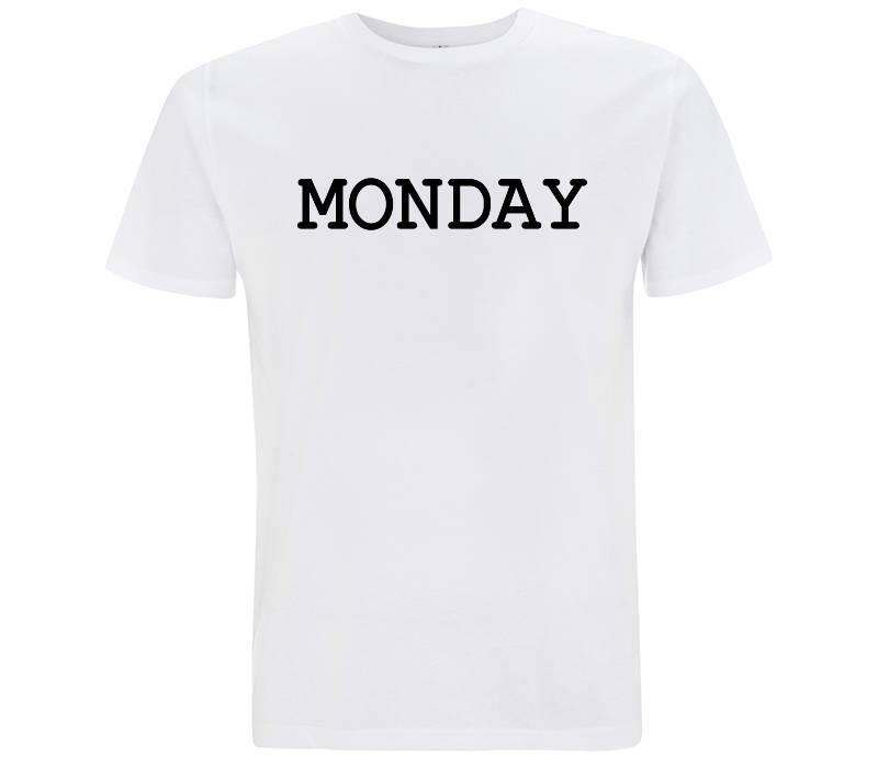 Monday - T-shirt Uomo - T-Shirt by Fol The Brand