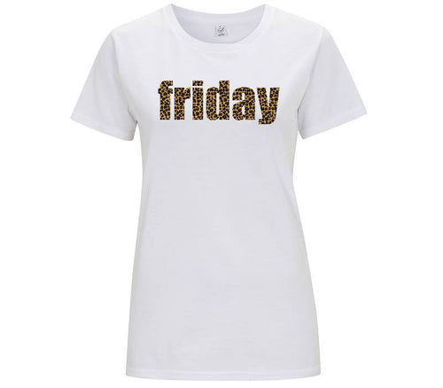 Friday Leopard - T-shirt Donna - T-Shirt by Fol The Brand