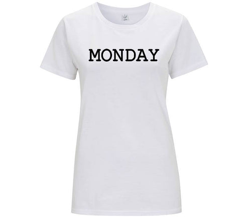 Monday - T-shirt Donna - T-Shirt by Fol The Brand