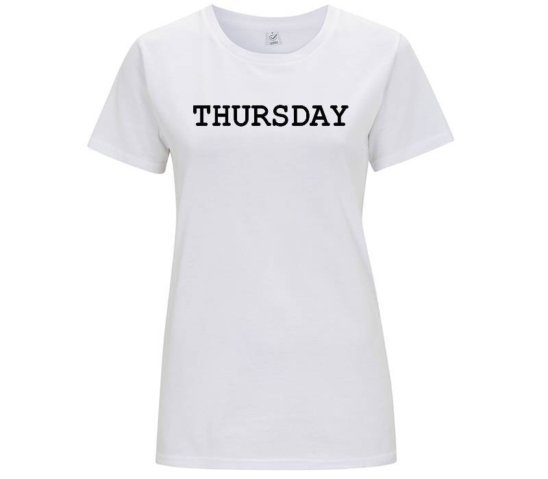 Thursday - T-shirt Donna - T-Shirt by Fol The Brand