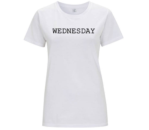 Wednesday - T-shirt Donna - T-Shirt by Fol The Brand
