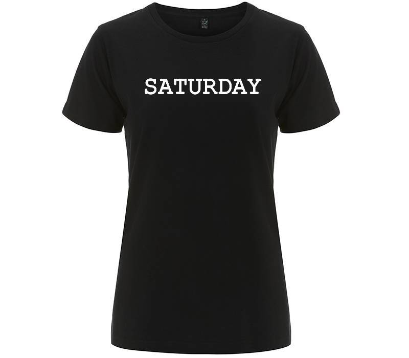 Saturday - T-shirt Donna - T-Shirt by Fol The Brand