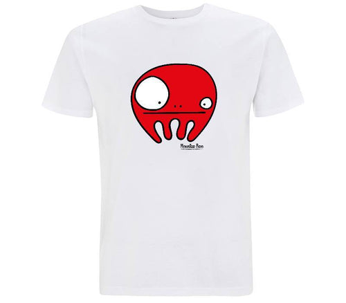 "Monster Bro ""Chloe"" Rosso - T-shirt Uomo - T-Shirt by Fol The Brand"