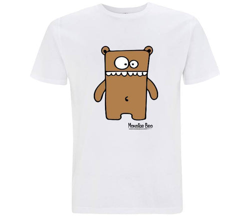 "Monster Bro ""Markus"" Marrone - T-shirt Uomo - T-Shirt by Fol The Brand"