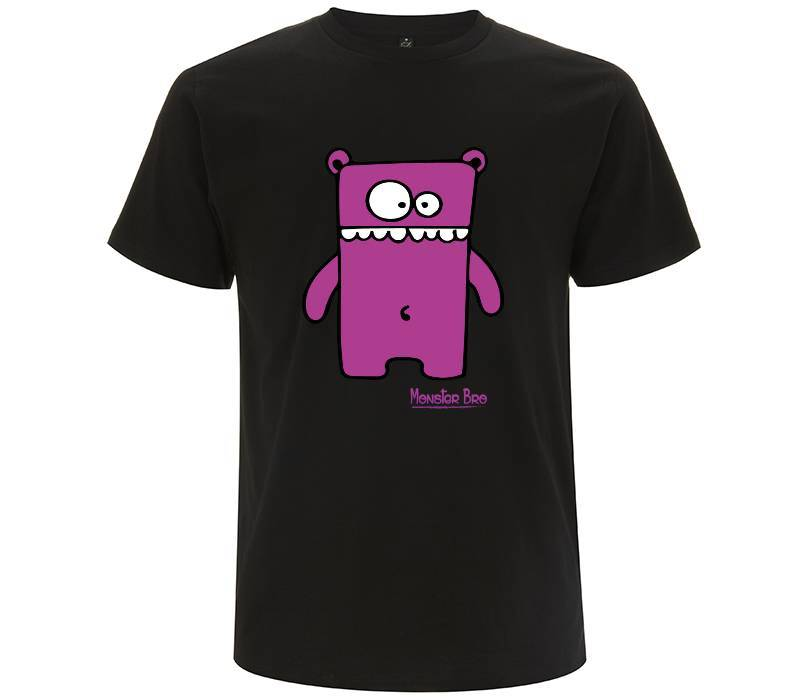 "Monster Bro ""Markus"" Viola - T-shirt Uomo - T-Shirt by Fol The Brand"