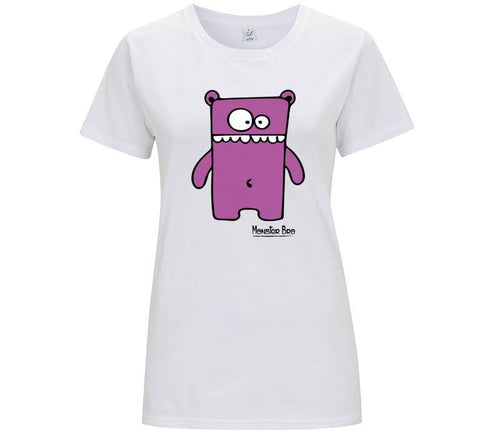 "Monster Bro ""Markus"" Viola - T-shirt Donna"
