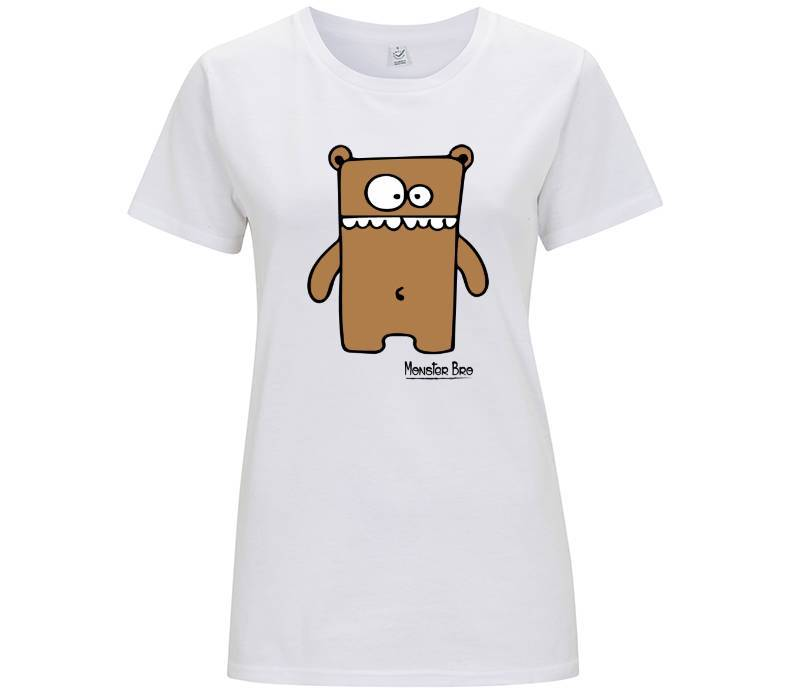 "Monster Bro ""Markus"" Marrone - T-shirt Donna - Monster Bro by Fol The Brand"