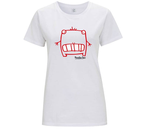 "Monster Bro ""Beary"" Rosso - T-shirt Donna - Monster Bro by Fol The Brand"
