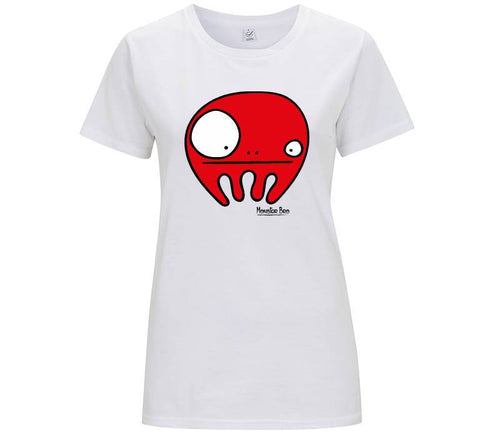 "Monster Bro ""Chloe"" Rosso - T-shirt Donna - Monster Bro by Fol The Brand"