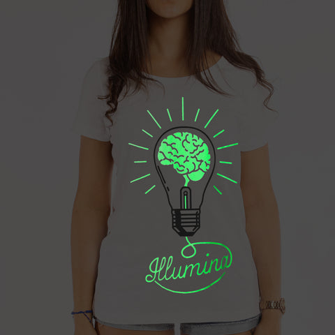 Luminescent Illumina T-Shirt Woman - Fol The Brand