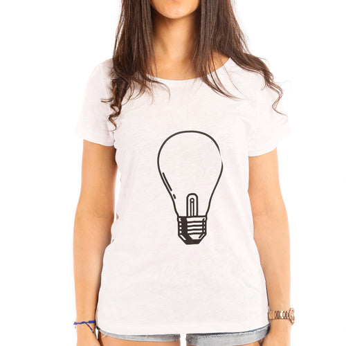 Luminescent Illumina T-Shirt Woman - T-Shirt by Fol The Brand