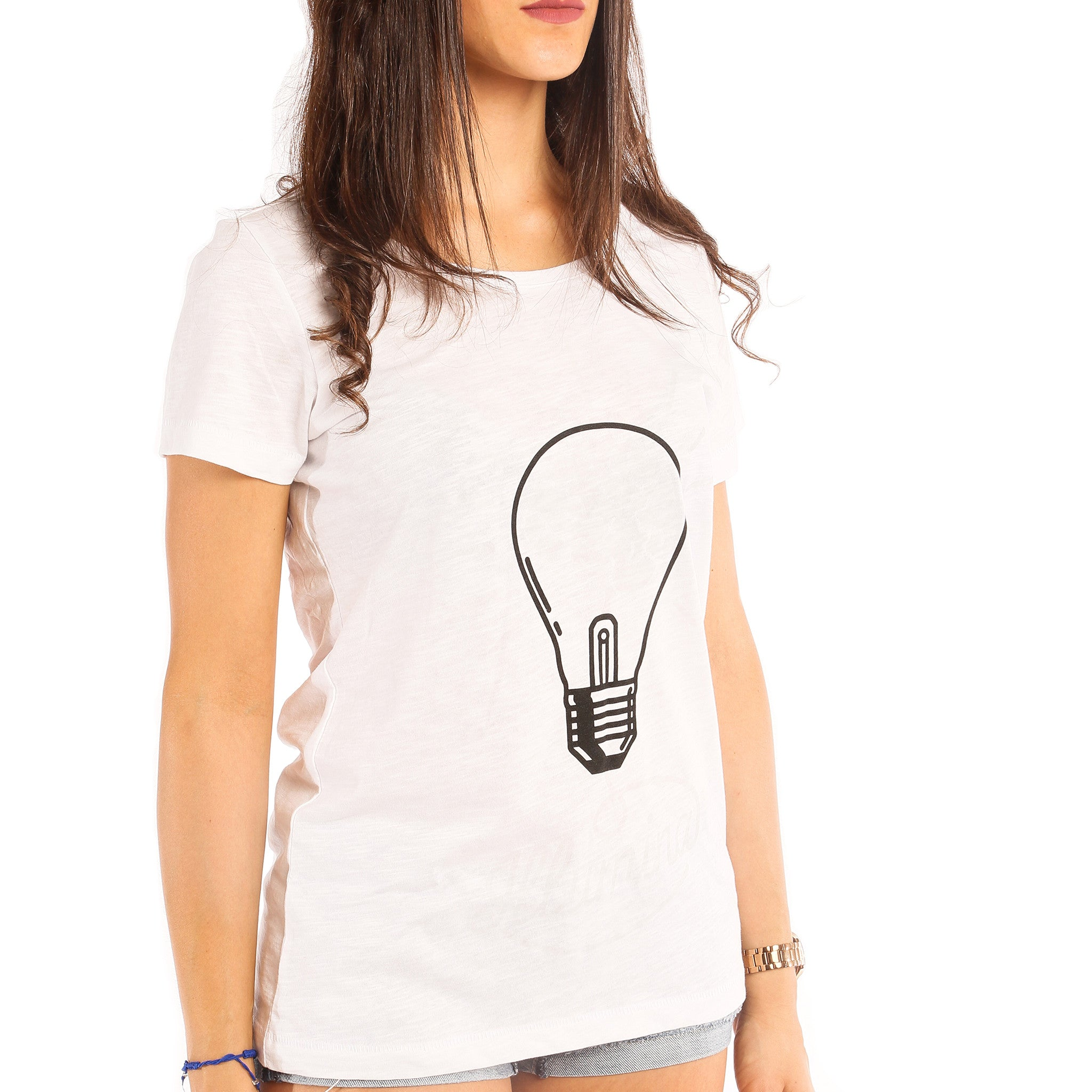 Illumina Luminescente - T-shirt Donna Promo - T-Shirt by Fol The Brand