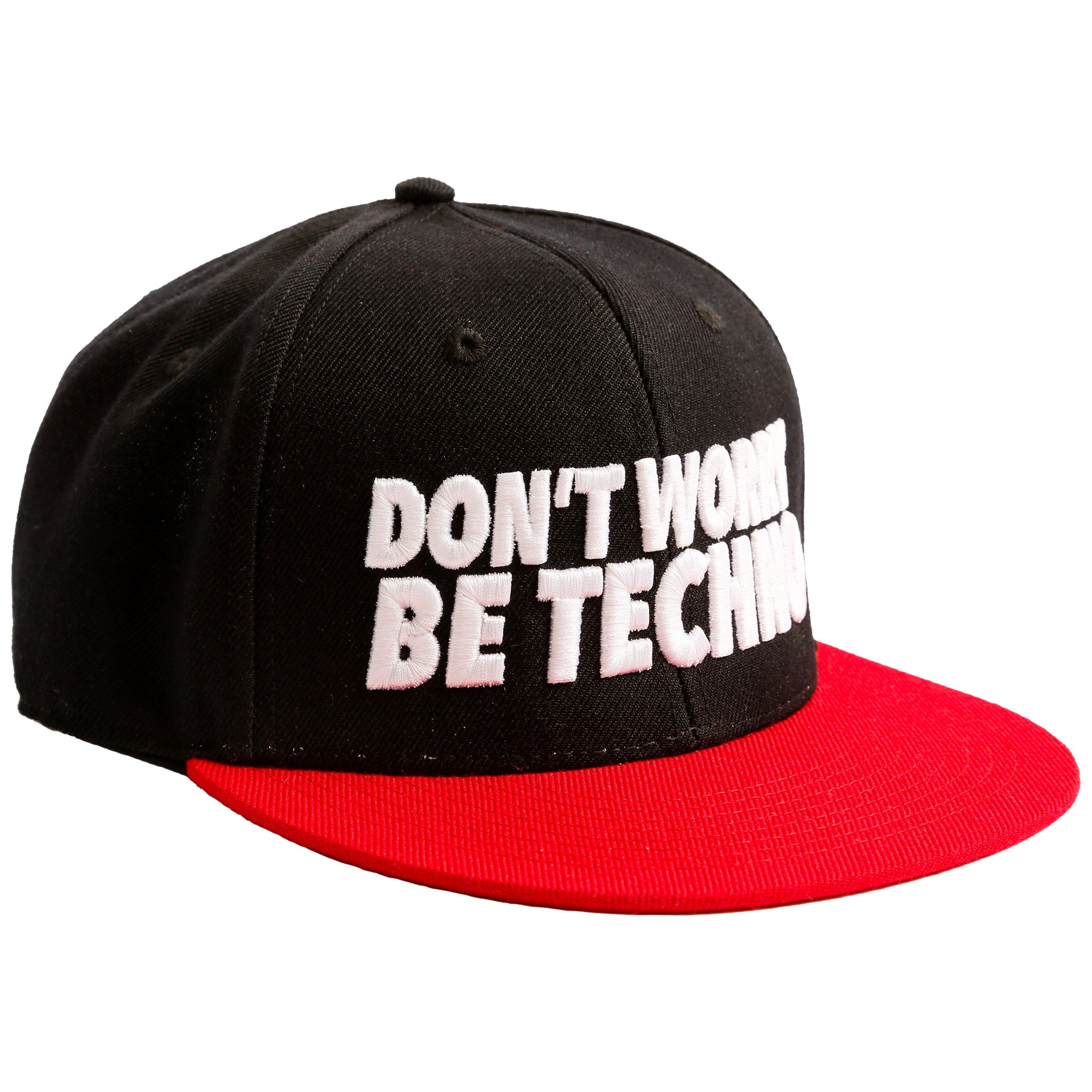 Don't Worry, Be Techno - Snapback Promo - Cappellino by Fol The Brand
