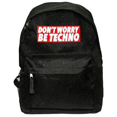 Don't Worry, Be Techno - Zaino Promo - Zaino by Fol The Brand