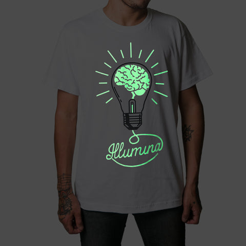 Luminescent Illumina T-Shirt Man - Fol The Brand