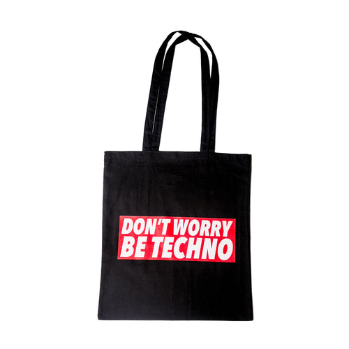Don't Worry, Be Techno - Shopper Promo - Shopper by Fol The Brand