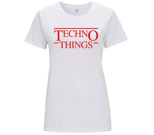 TECHNO THINGS FULL - T-SHIRT DONNA