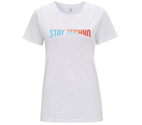 STAY TECHNO COLOR T-SHIRT DONNA