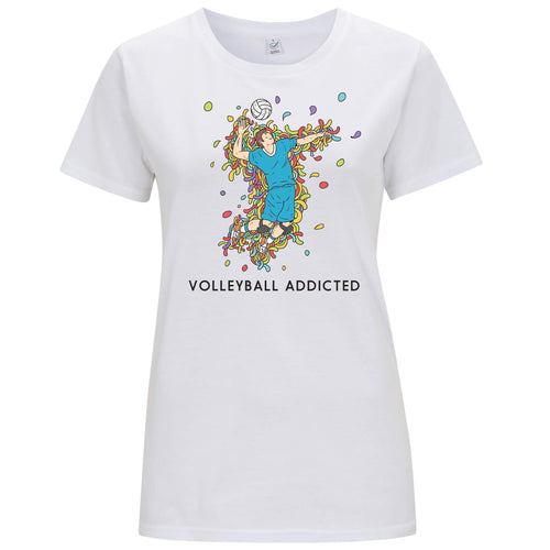 Sport Addicted: Pallavolo - T-shirt Donna - T-Shirt by Fol The Brand