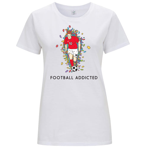 Sport Addicted: Calcio - T-shirt Donna - T-Shirt by Fol The Brand