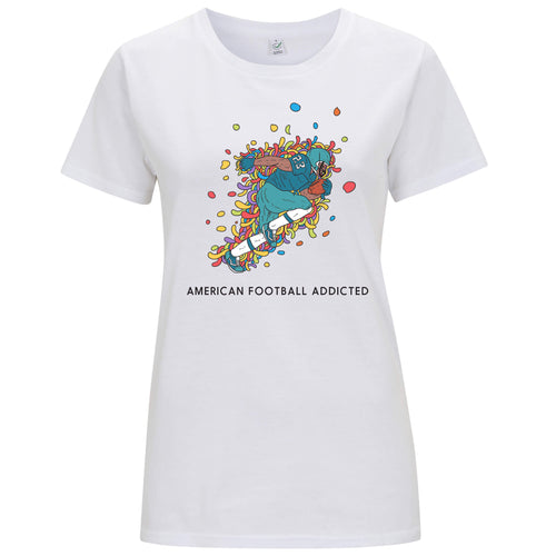 Sport Addicted: Football Americano - T-shirt Donna - T-Shirt by Fol The Brand