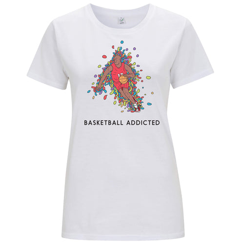 Sport Addicted: Basket - T-shirt Donna - T-Shirt by Fol The Brand