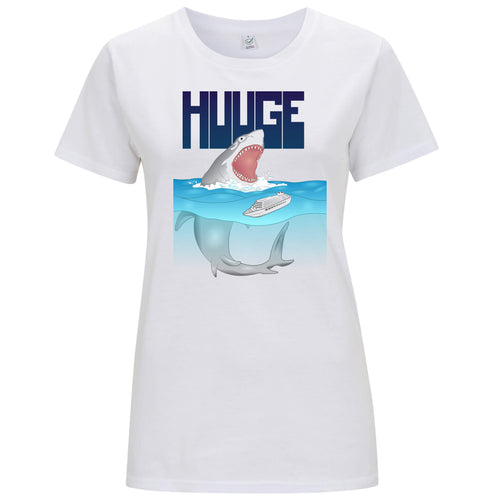 Huuge Squalo - T-shirt Donna - T-Shirt by Fol The Brand