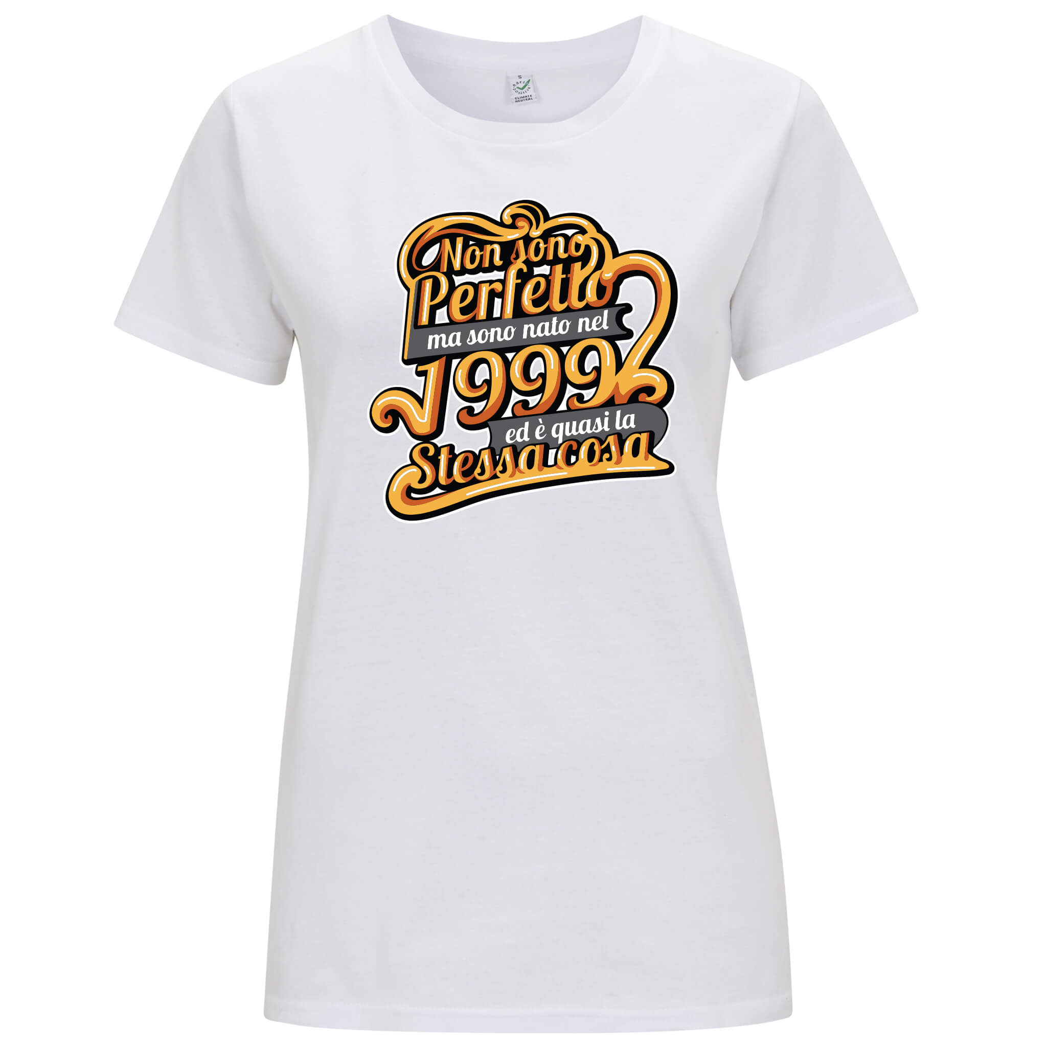 """Nato nel 1999"" - T-shirt Donna - T-Shirt by Fol The Brand"