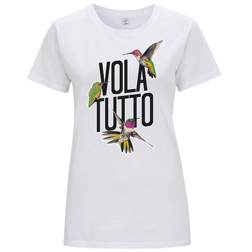 Volatutto Colibrì - T-shirt Donna - T-Shirt by Fol The Brand