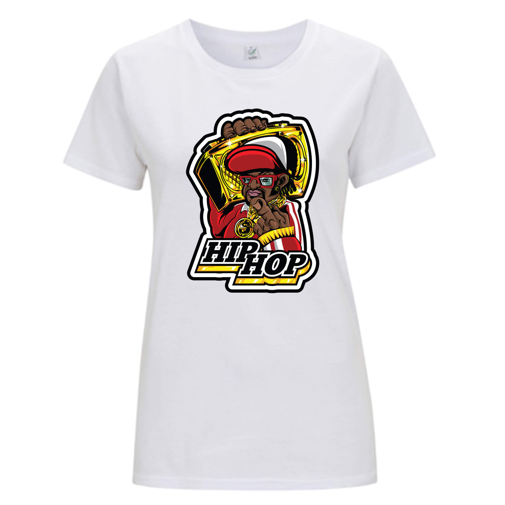 Musica Hip Hop - T-shirt Donna - T-Shirt by Fol The Brand