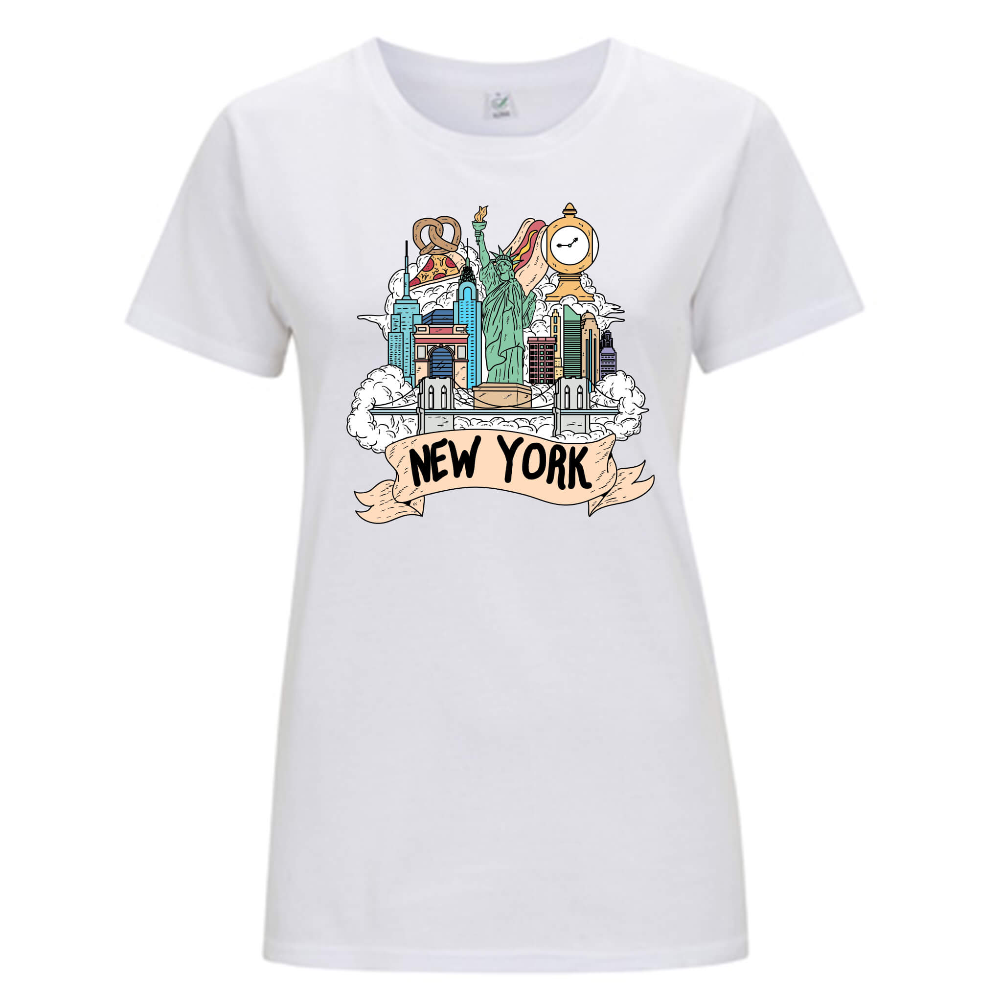 Località: New York - T-shirt Donna - T-Shirt by Fol The Brand