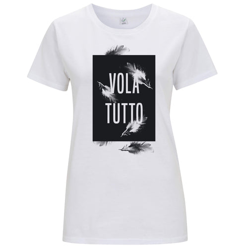 Volatutto Piume - T-shirt Donna - T-Shirt by Fol The Brand