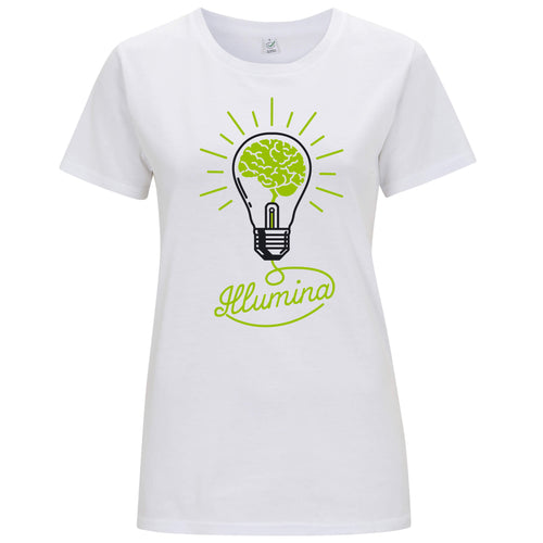 Illumina Verde - T-shirt Donna Promo - T-Shirt by Fol The Brand