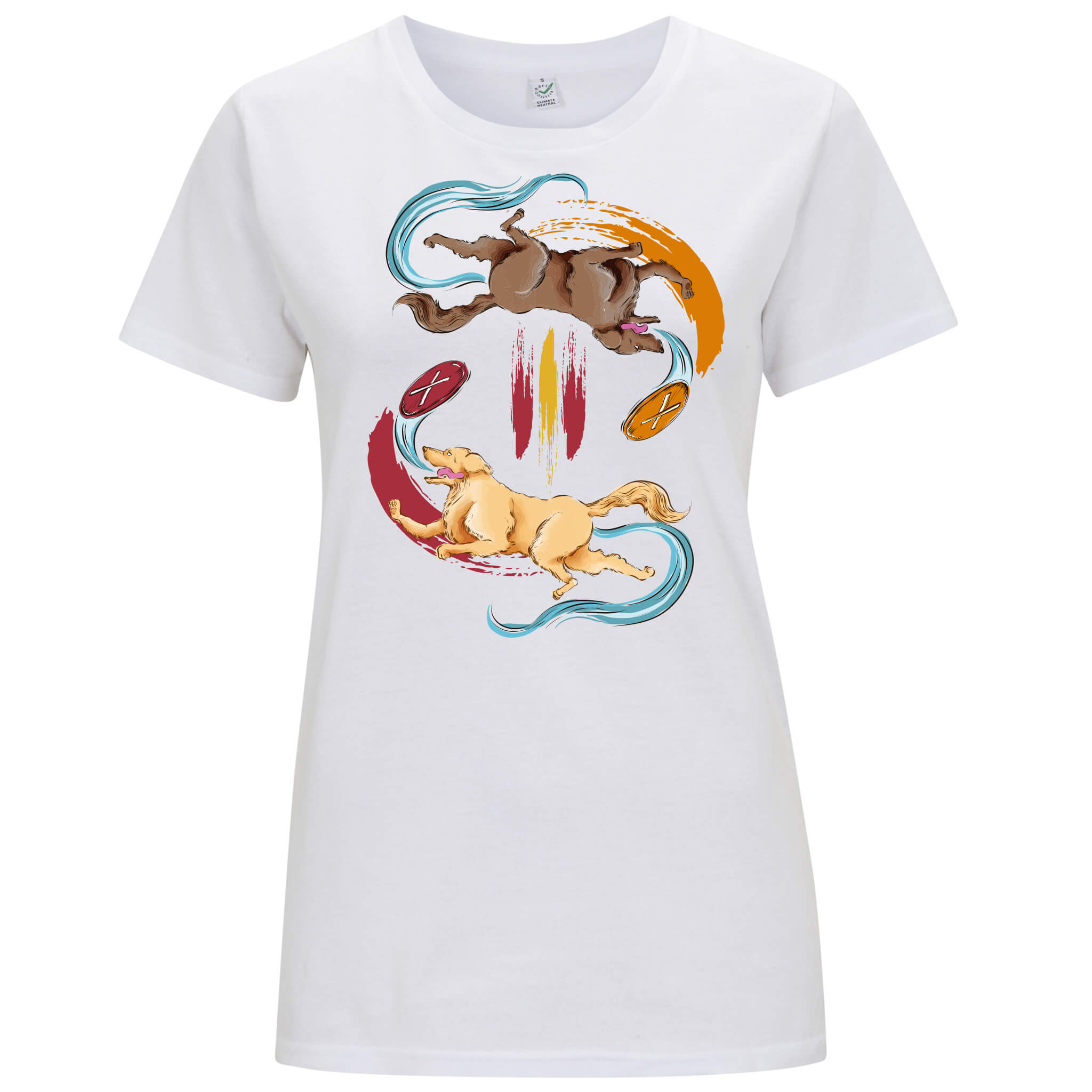 Golden Retriever - T-shirt Donna - T-Shirt by Fol The Brand