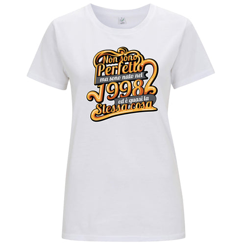 """Nato nel 1998"" - T-shirt Donna - T-Shirt by Fol The Brand"