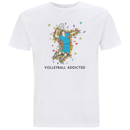Sport Addicted: Pallavolo - T-shirt Uomo - T-Shirt by Fol The Brand