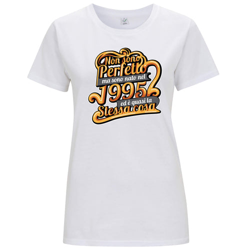 """Nato nel 1995"" - T-shirt Donna - T-Shirt by Fol The Brand"