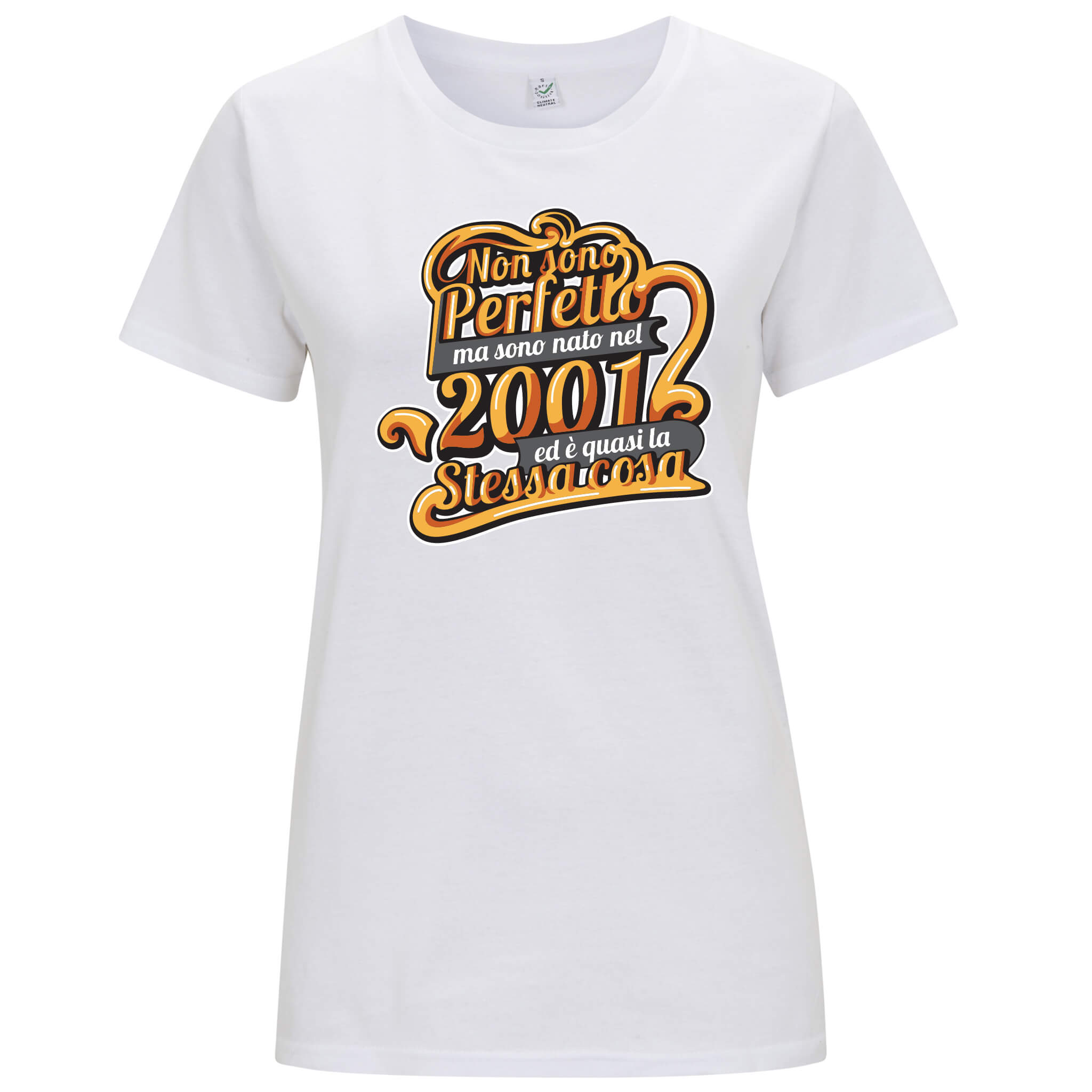 """Nato nel 2001"" - T-shirt Donna - T-Shirt by Fol The Brand"