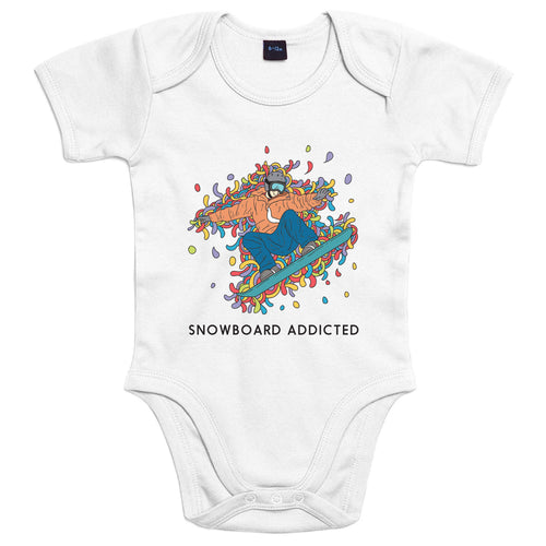 Sport Addicted: Snowboard - Body Bambino - Body by Fol The Brand