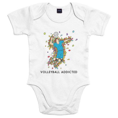 Sport Addicted: Pallavolo - Body Bambino - Body by Fol The Brand
