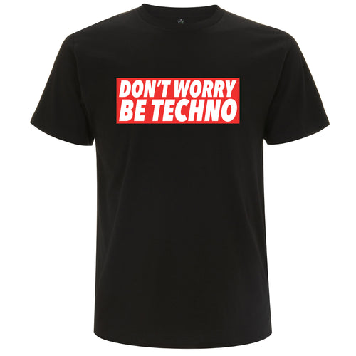 Don't Worry, Be Techno - T-shirt Uomo Promo - T-Shirt by Fol The Brand
