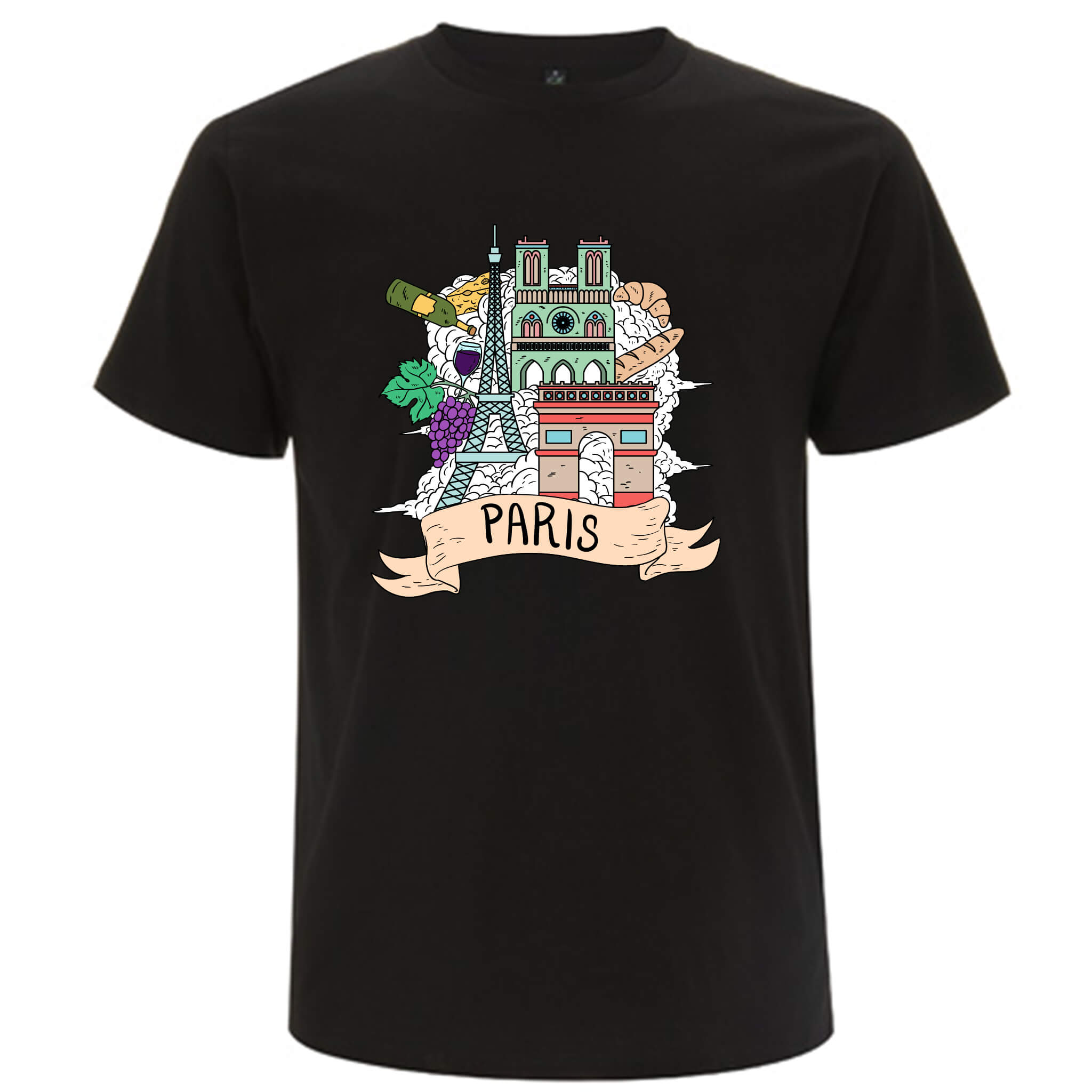Località: Parigi - T-shirt Uomo - T-Shirt by Fol The Brand
