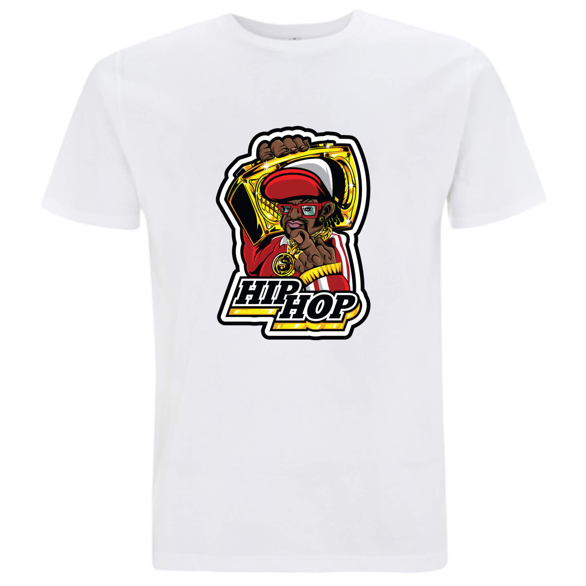 Musica Hip Hop - T-shirt Uomo - T-Shirt by Fol The Brand