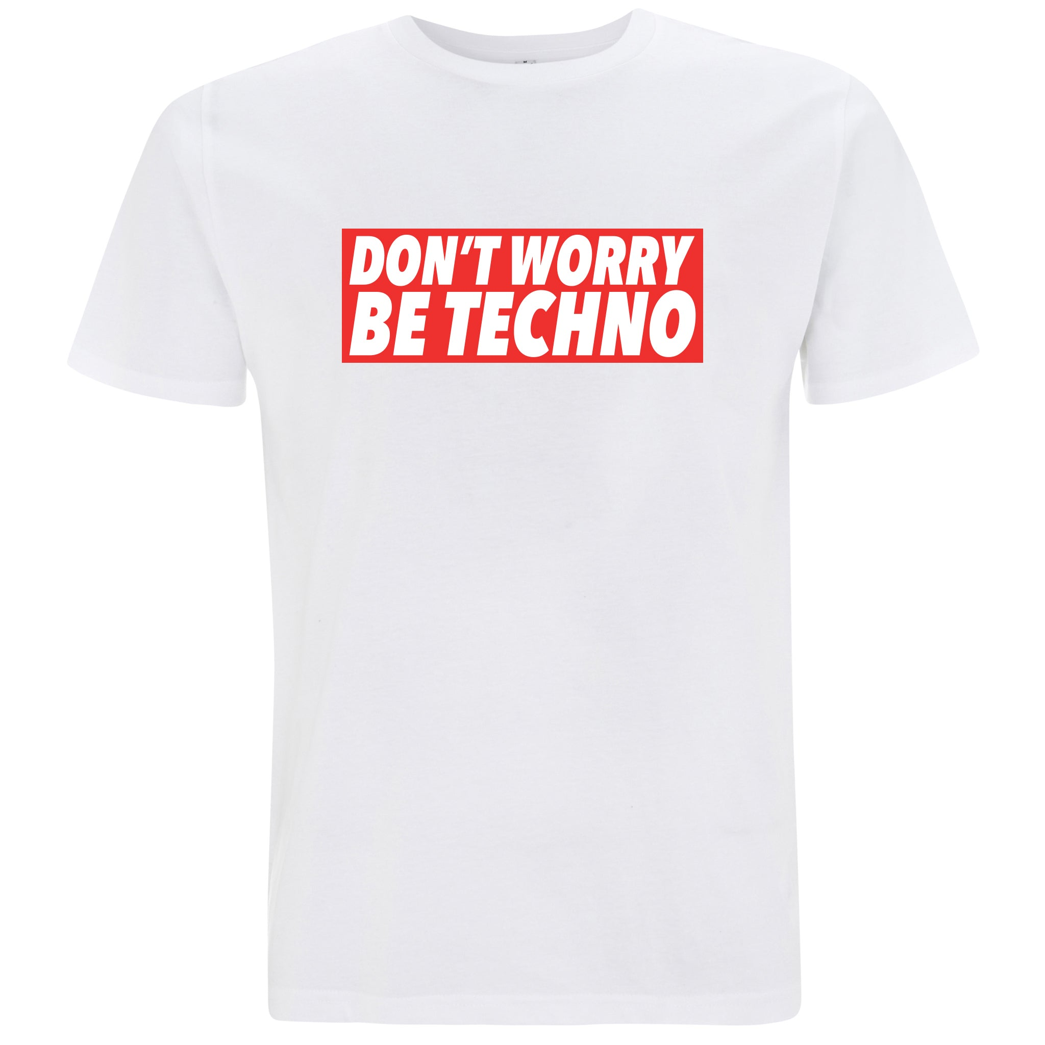 Don't Worry, Be Techno - T-shirt Uomo - T-Shirt by Fol The Brand