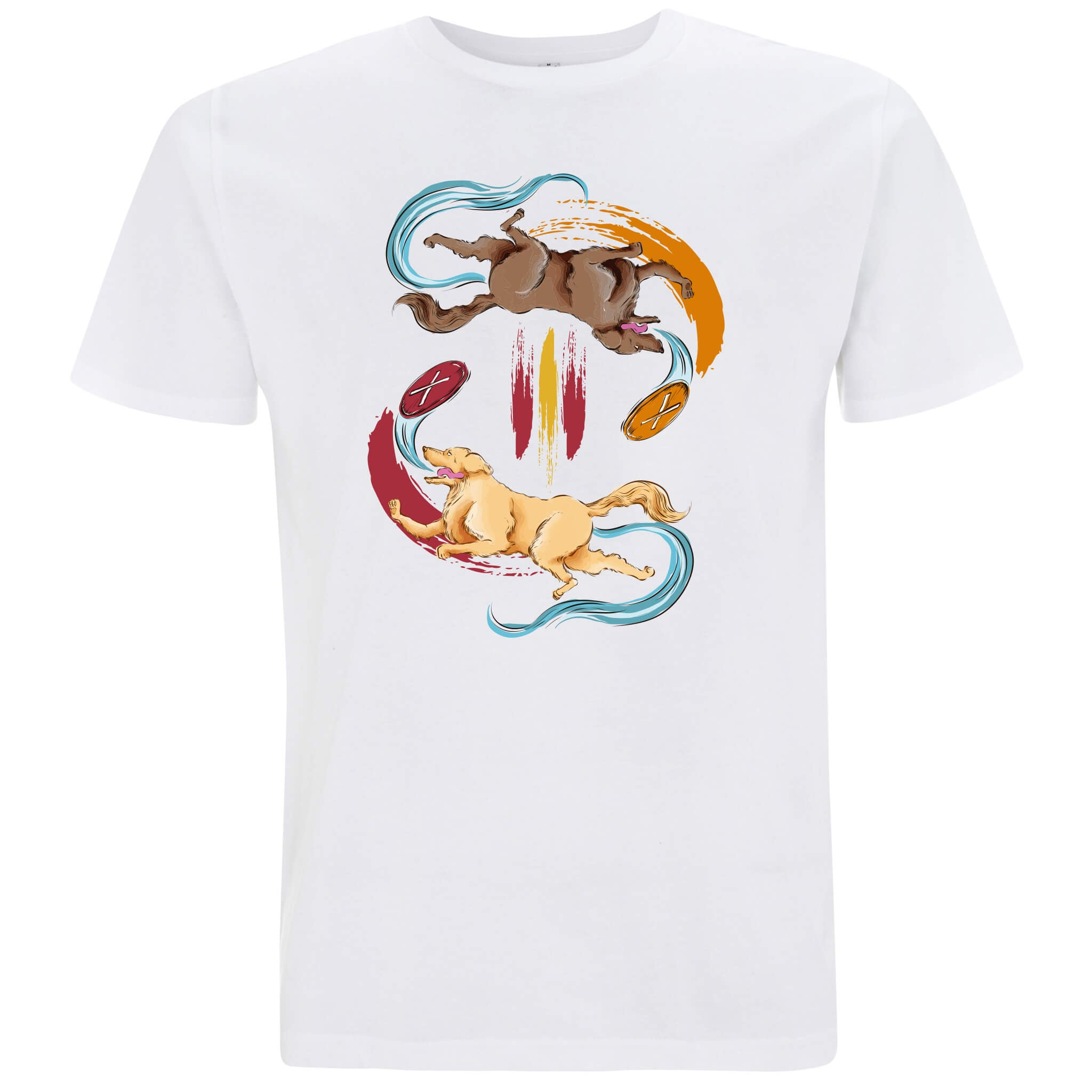 Golden Retriever - T-shirt Uomo - T-Shirt by Fol The Brand